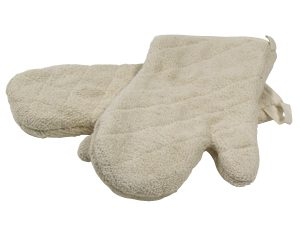 restaurant equipment and supply Terry Cloth Oven Mitt