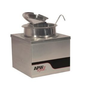 restaurant equipment and supply APW Wyott W-4BPKG 4 Qt. Heated Warmer