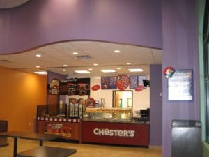 restaurant equipment and supply Chester's Chicken Programs