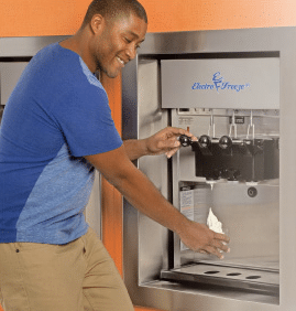 electro freeze frozen yogurt machine