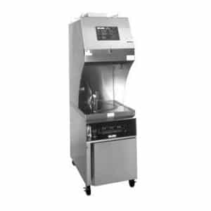 restaurant equipment and supply Giles GEF-400VH Electric Ventless Hood Fryer