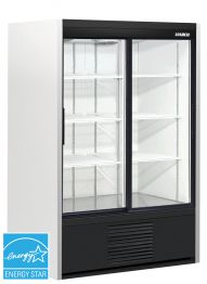 restaurant equipment and supply HABCO ® – 2 Glass Door Cooler -SE40e -