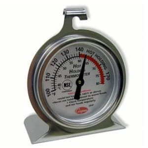 restaurant equipment and supply Hot Holding Thermometer