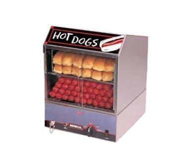 restaurant equipment and supply Nemco 8300 Countertop Hot Dog Steamer