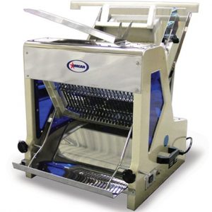 """restaurant equipment and supply OMCAN 44247 Bread Slicer - 1/2"""" Thick Slices 1/4 HP"""