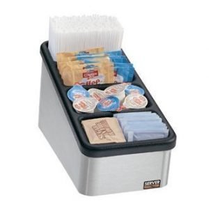 restaurant equipment and supply Server CO-4 85210 Four Bin Countertop Organizer