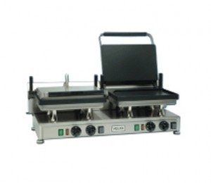 restaurant equipment and supply Silesia CG-2 Smooth Panini Grill