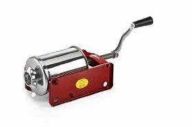 restaurant equipment and supply Horizontal Sausage Stuffer, Minnie, Tre Spade