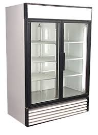 restaurant equipment and supply 2 Swing Glass Door Refrigerated Display Cooler – True – GDM-49 –