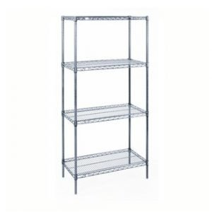restaurant equipment and supply Chrome Epoxy Shelving