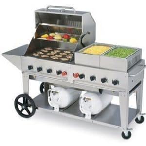 restaurant equipment and supply Crown Verity Propane Club Grill CCB-60