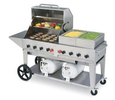 crown verity club grill 60