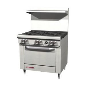 restaurant equipment and supply Southbend S Series 36″ Range with 6 Burners