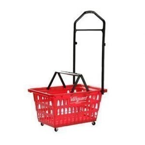 restaurant equipment and supply Wheeled Hand Basket