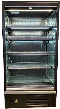 proso 937 open front refrigerator grab and go