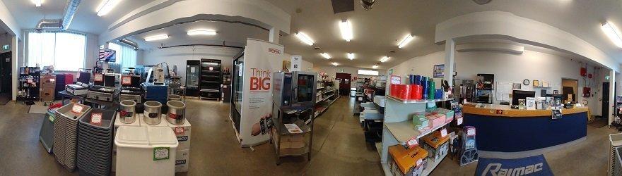restaurant equipment and food equipment show room
