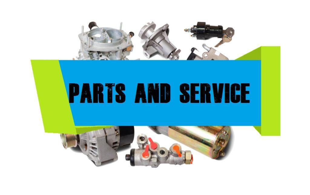 parts service banner