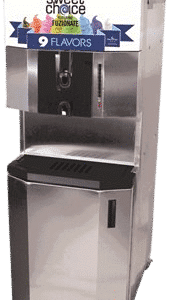 restaurant equipment and supply Fuzionate 9 FLAVOUR SOFT SERVE FREEZER 44RMTFB