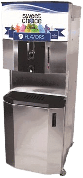 restaurant equipment and supply Fuzionate 9 FLAVOUR SOFT SERVE FREEZER 44RMTFB
