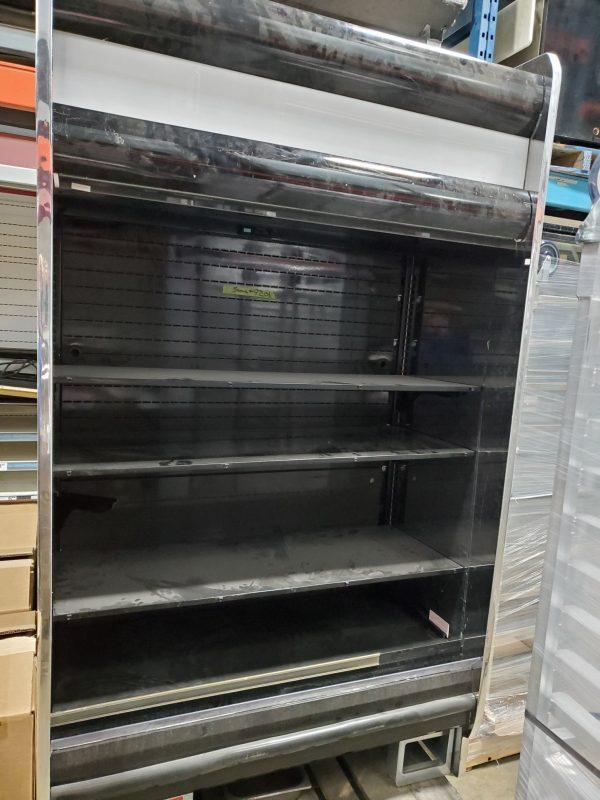restaurant equipment and supply Hussmann RGD4SC Vertical Merchandiser