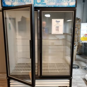 restaurant equipment and supply True GDIM 49NT LD Glass Door Ice Merchandiser