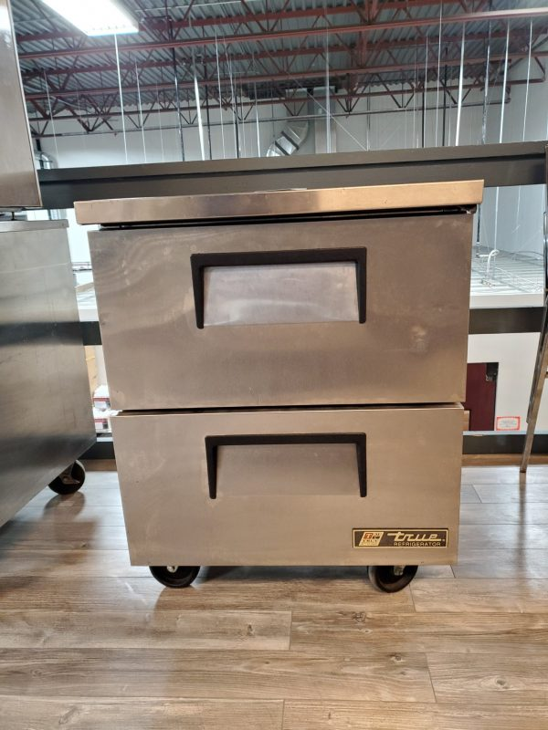 restaurant equipment and supply True TUC-27D-2, 2 Drawer Under Counter Refrigerated Holding Cabinet