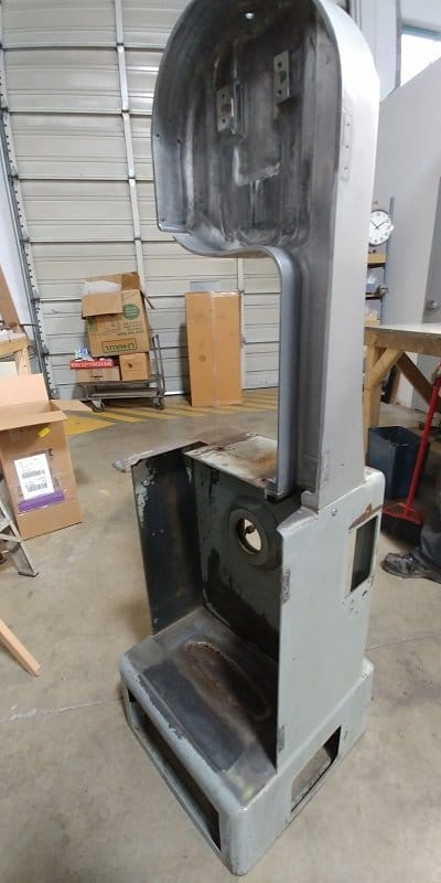 bandsaw before refurbished