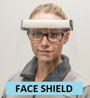 INFECT CONTROL FACE SHIELDS