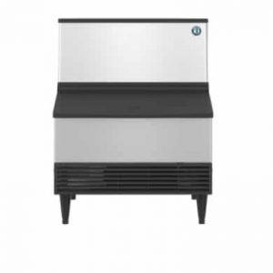 KM-301BAJ, Crescent Cuber Icemaker, Air-cooled, Built in Storage Bin